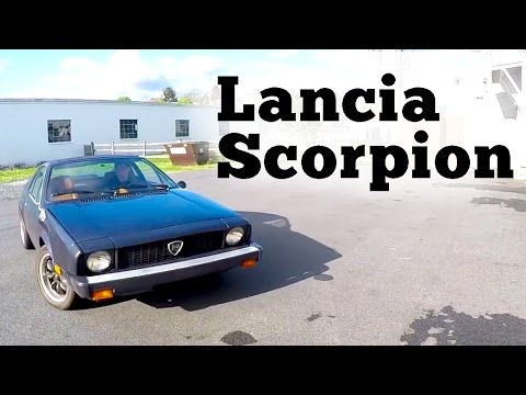 1976 Lancia Scorpion: Walk-Around