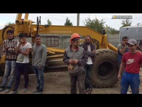 В ходе рейдов полиция и миграционная служба Краснодара обнаружили 12 рабочих-нелегалов