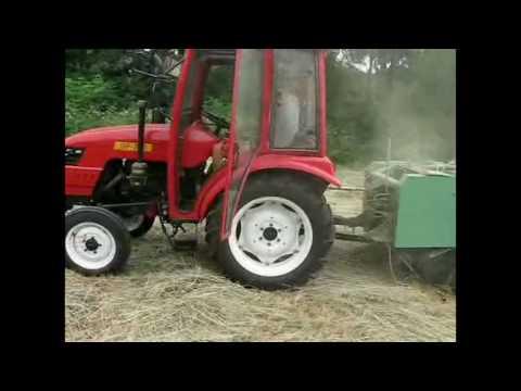 МТЗ 80 с фрезой - YouTube