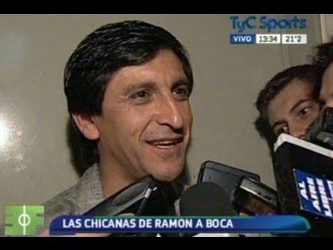 Las chicanas de Ramón Díaz