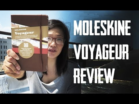 Moleskine Voyageur Traveller's Notebook Review