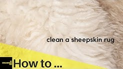 How To Clean a Sheepskin Rug | So Easy!