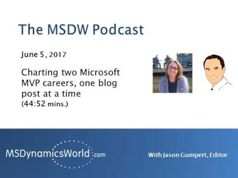 MSDW Podcast: Charting two Microsoft MVP careers, one blog post at a time