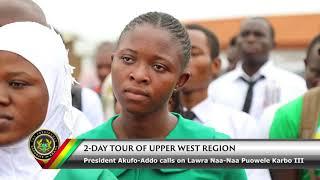 President Calls on Lawra Naa-Naa Puowele Karbo III