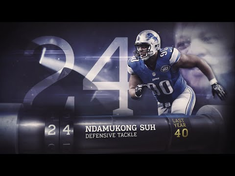 #24 Ndamukong Suh (DT, Lions) | Top 100 Players of 2015