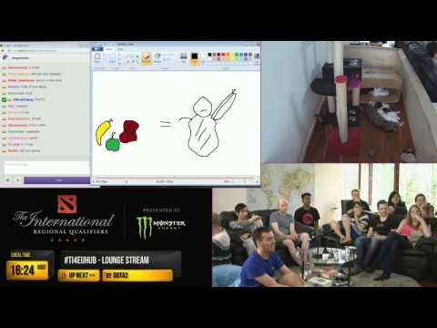 #ti4euhub Pictionary with Twitch Chat