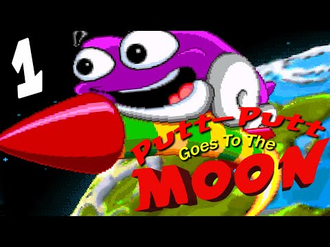 Getting Launched Into Space AGAINST MY WILL!!!  |  Putt-Putt: Goes to the Moon - Part 1 |
