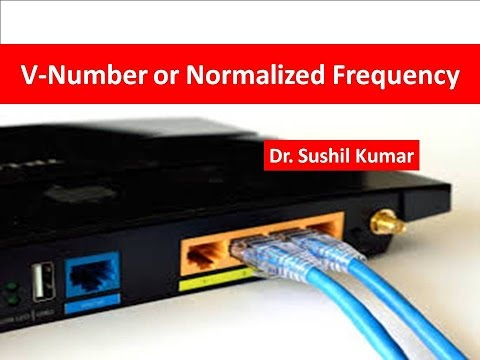 V-Number or Normalized Frequency of Optical Fiber