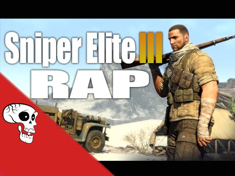 """Sniper Elite 3 Rap by JT Music - """"See Right Through You"""""""