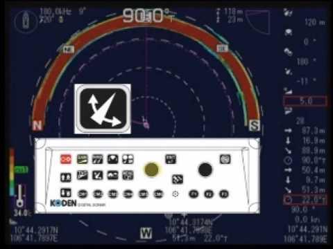 MECOM - Hướng dẫn sử dụng Máy dò ngang KODEN KDS-6000BB