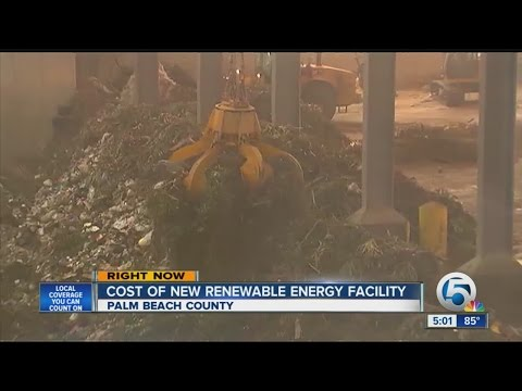 Cost of new renewable energy facility