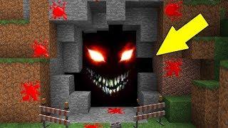 НЕЧТО НЕОБЪЯСНИМОЕ ЖИВЕТ В ЭТОЙ ПЕЩЕРЕ Страшилка и ловушка Майнкрафт Троллинг Нуба Minecraft нуб