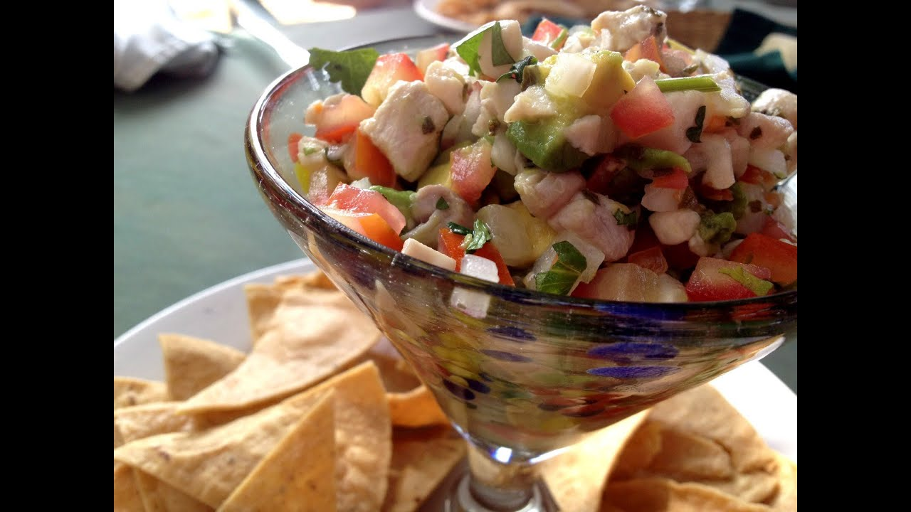 How to Make Ceviche - YouTube