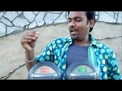 Coin based parking system in USA/ America :: Santa Cruz, California :: Video by Arun Kumar B