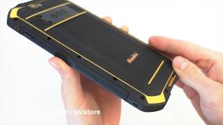Runbo F2 6500mAh battery - unboxing the most rugged phablet