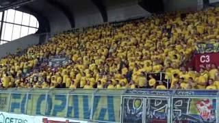 FC Baník Ostrava - SFC Opava - kotel Opavy