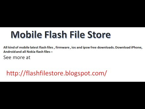 How To Download any mobile firmware or flash file free