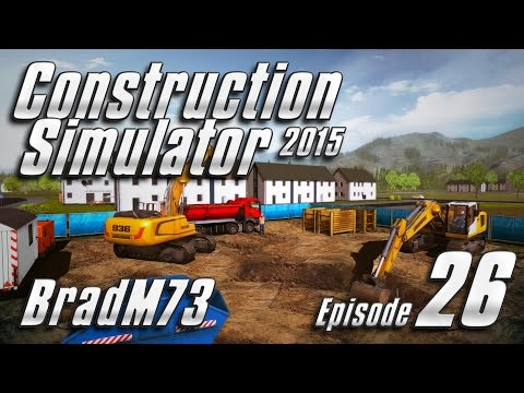 Construction Simulator 2015 - Episode 26 - Stadium Pool & Mayor's Mansion - Part 2