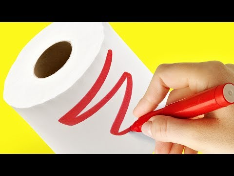16 NEW USES FOR TOILET PAPER ROLL
