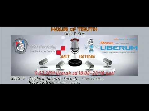HOUR of TRUTH 16 - OPPT Croatia & Radio Liberum 11.03.2013.