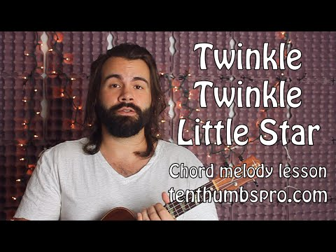 Twinkle Twinkle Little Star - Beginner Chord Melody Ukulele Lesson