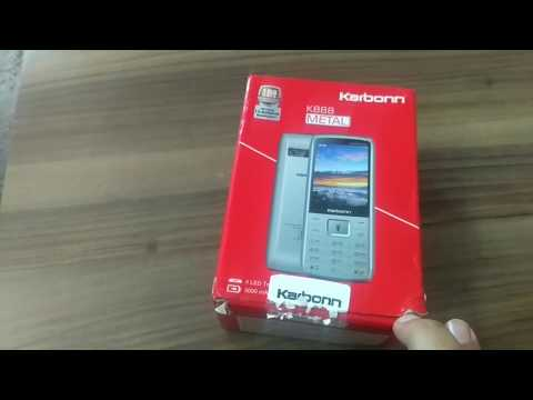KARBONN K888 METAL | Big battery 3000 mah keypad mobile  unboxing and review