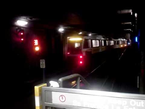 Metro Expo Line Departing