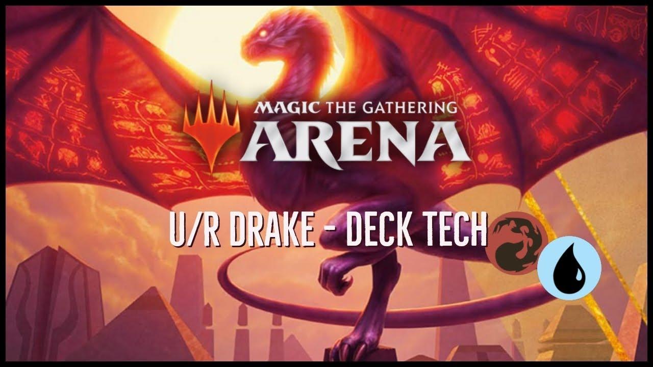 MTG: Arena - U/R Drake Deck Tech (Decklist in the Description)