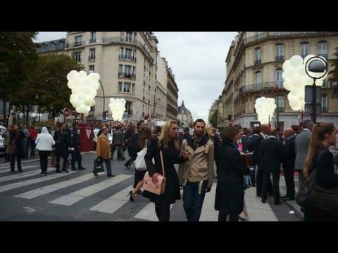 Les Vendanges de l'Avenue Montaigne 2013 video
