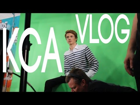 Jace Norman Slimes John Stamos at the Kid's Choice Awards | Xander and Jace Norman
