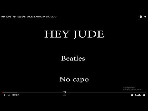5.81 MB) Free Hey Jude Chords And Lyrics Piano Mp3 – Echigoya Music