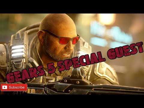 GEARS 5 SPECIAL GUEST CHARACTER IS DAVE BATISTA WHAT!!!!!