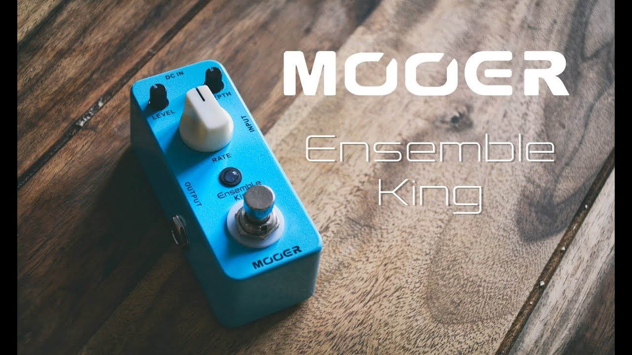 mooer ensemble king effects pedal quick demo youtube. Black Bedroom Furniture Sets. Home Design Ideas