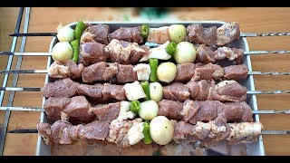 Lamb Shish Grill Kebab Recipe Gorgeous Barbecue Sauce