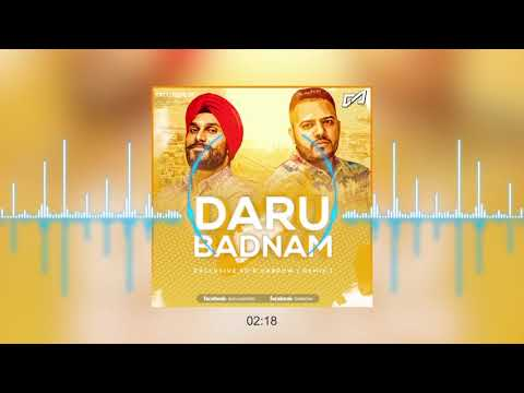 Daru Badnaam ( Darrow x  SD ) REMIX | Kamal Kahlon & Param Singh | Latest Punjabi Viral Songs