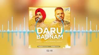 Daru Badnaam ( Darrow x  SD ) REMIX | Kamal Kahlon & Param Singh | Latest Punjabi Viral Songs