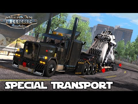 NEW SPECIAL TRANSPORT HEAVY HAUL MOD for AMERICAN TRUCK SIMULATOR