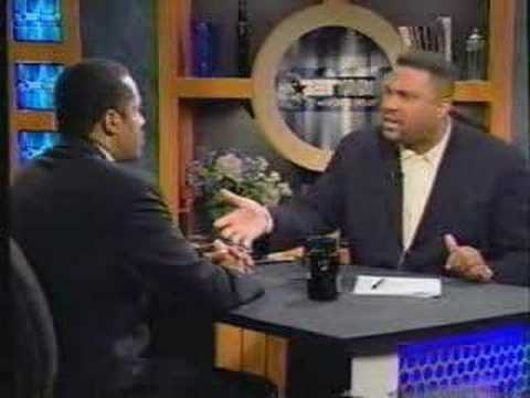 Larry Elder on Racism Tavis Smiley