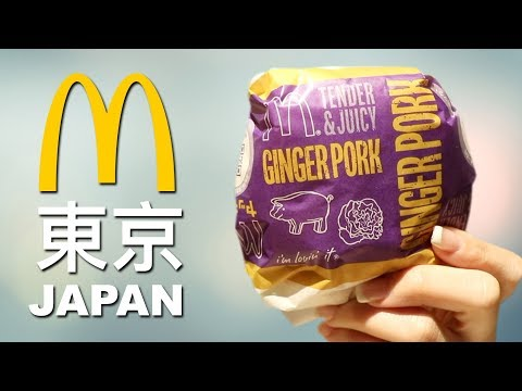 WE TRY McDONALD'S IN JAPAN - TOP 10