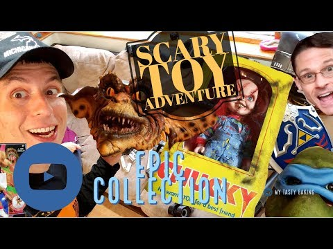 * Scary TOY Hunter -  Action Figure Collection of WWE, TMNT, Horror, and Nintendo ! Jason Voorhees