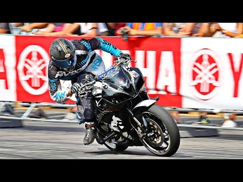 Rocket Stunt CBR600RR - Tomas Toth - Czech Stunt Day 2017