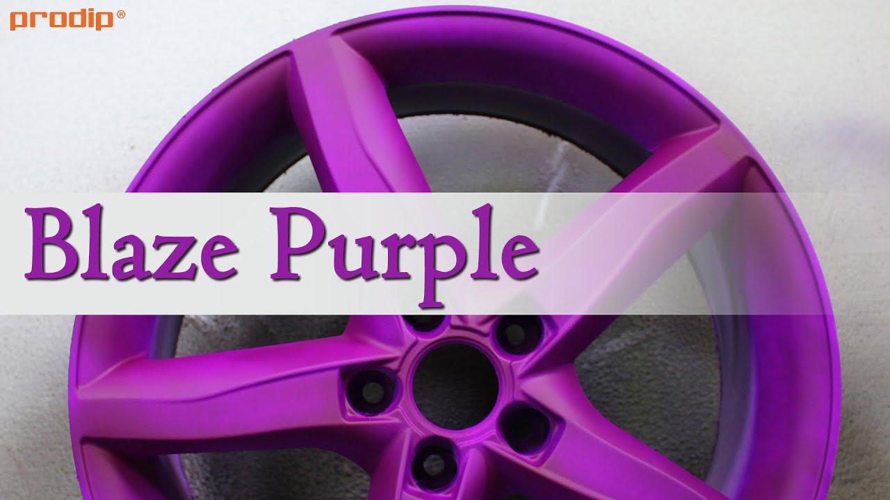 Can I Spray Paint Over Plasti Dip Part - 35: Blaze Purple Over Plasti Dip White - YouTube