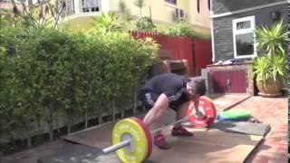 Тайские каникулы. Рывок 100 кг от Дмитрия и Андрея + бонусный рывок на 150
