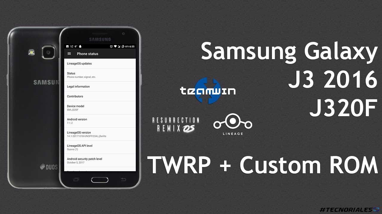 Samsung Galaxy J3 2016: TWRP + Custom ROMs