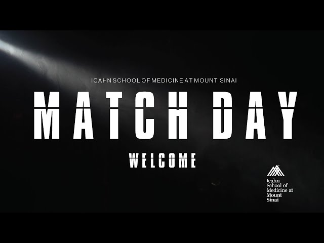 Match Day 2021  at the Icahn School of Medicine at Mount Sinai