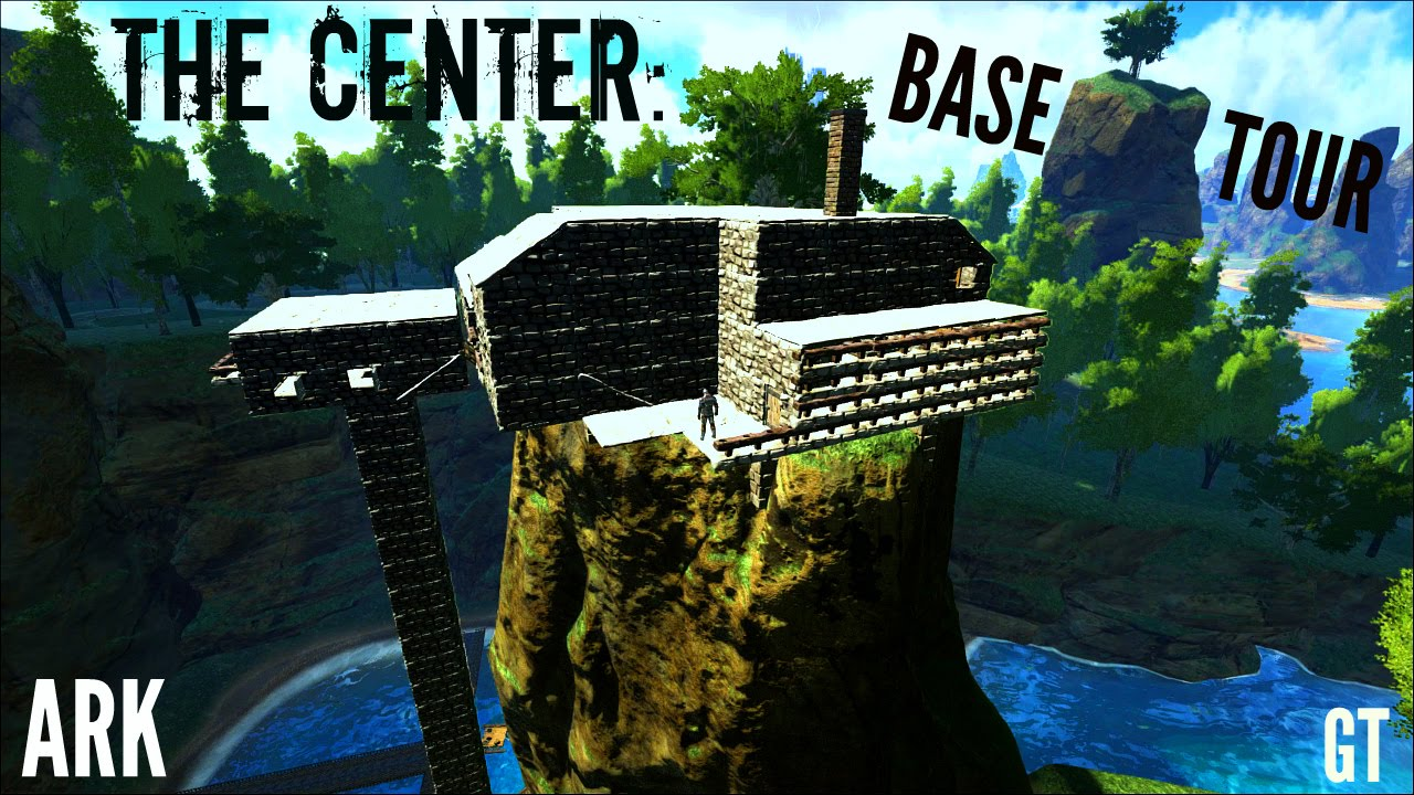 Center Map Ark The Island
