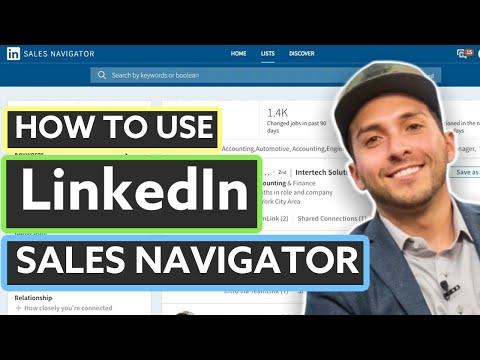 LinkedIn Sales Navigator Tutorial (2019)
