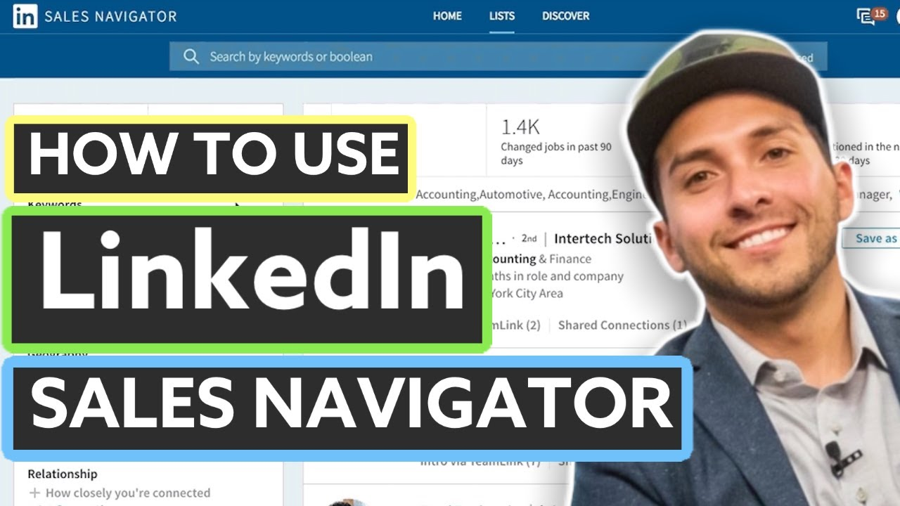 LinkedIn Sales Navigator Tutorial (2019)