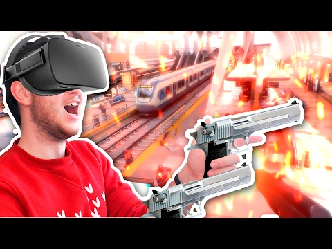 КРУТЕЙШИЙ ШУТЕР С OCULUS TOUCH!   Bullet Train (Oculus Rift)