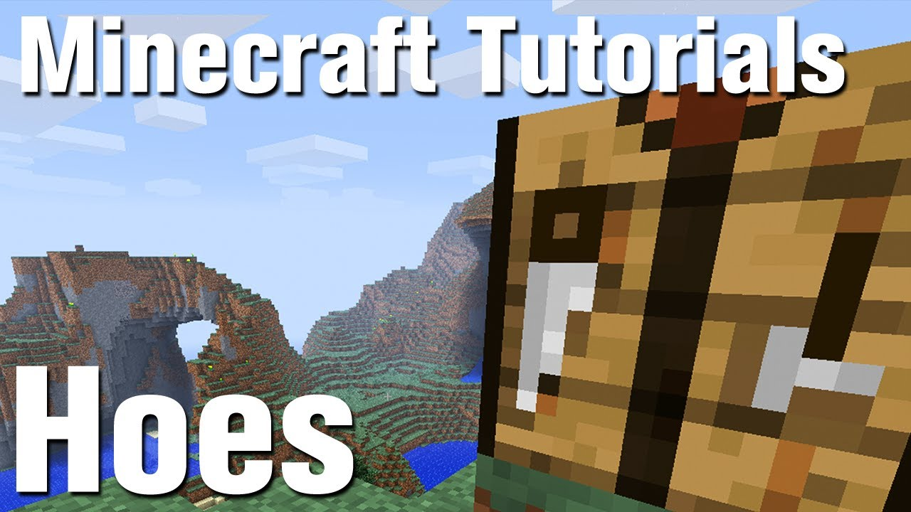 How to make a hoe in Minecraft 23